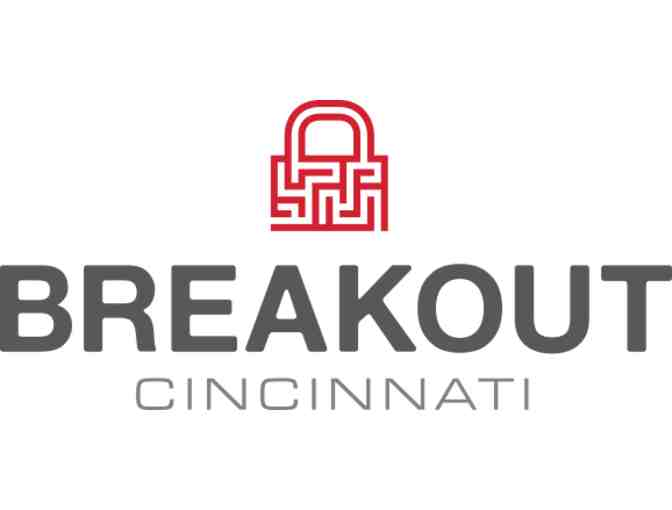 One Game for up to 8 People at Breakout Cincinnati