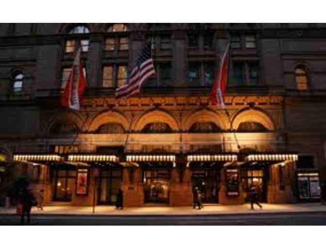 2 Tickets to 2018-19 performance at Carnegie Hall - NYC, and 2 tickets to tour hall