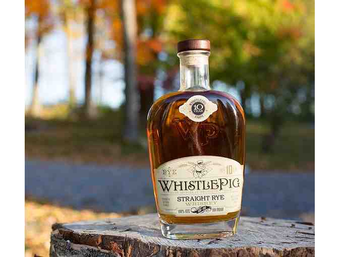 Whistlepig Straight Rye Whiskey 10yr Single Barrel  Bottled exclusively for The Party Source