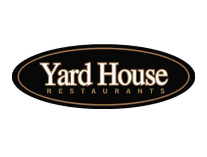 5 $25 Gift Cards to Yard House Restaurant