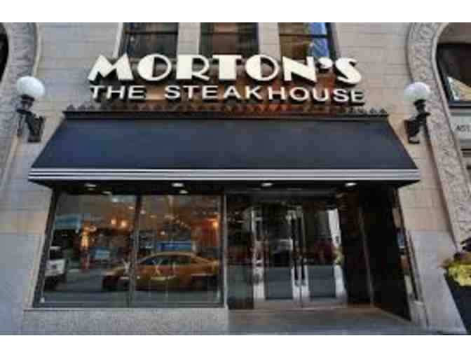 $50 Gift Card to Morton's Steakhouse.