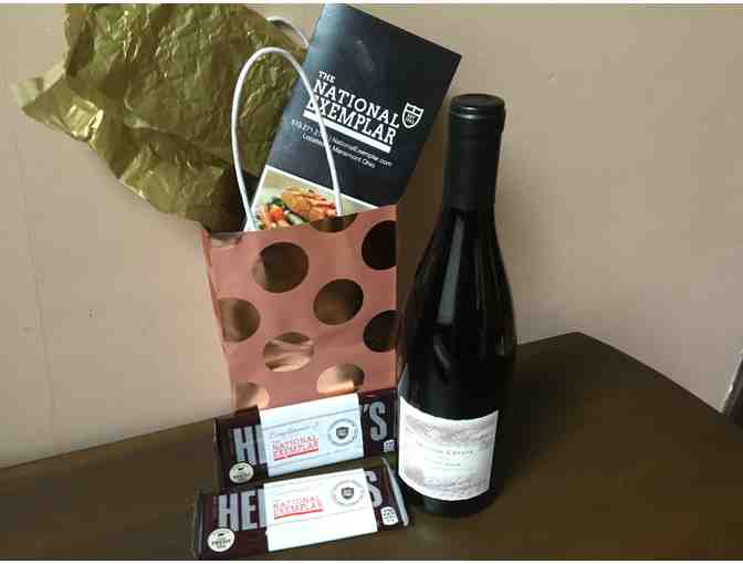 $60 Gift certificate & Bottle of wine