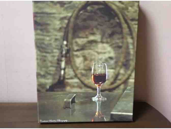 'A Glass of Woodford',  8x12 Canvas