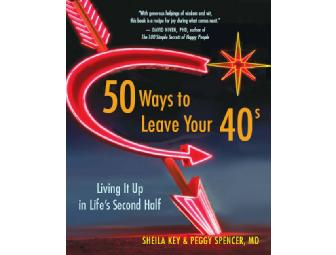 50 Ways to leave your 40s signed Book and Party