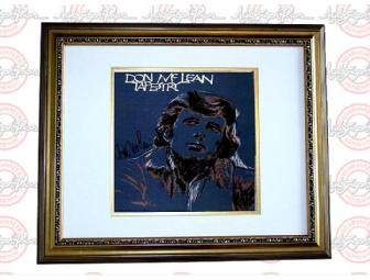 Don Mclean Signed TAPESTRY LP