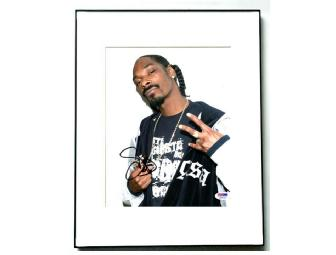 Snoop Doggy Dogg Autographed Signed Framed Photo