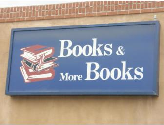 $40 Gift Certificate for Books and More Books, Santa Fe