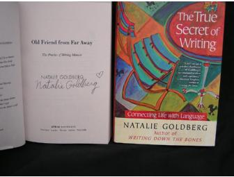 Two Signed Books by Natalie Goldberg!!