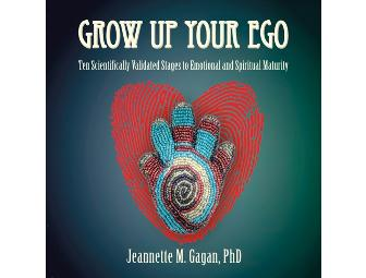 GROW UP YOUR EGO: Book and audio CD package