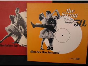 The Swing Era - Time Life Series of 14 Sets of Boxed Records- Pristine!