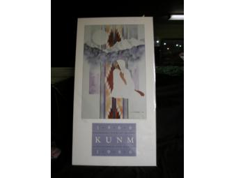 KUNM Numbered 20th Anniversary Commemoration Poster