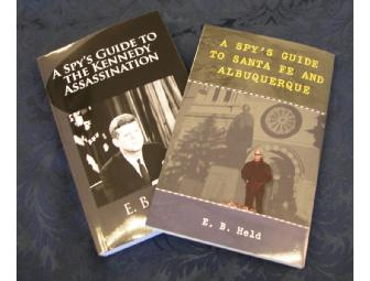 2 autographed Spy's Guide books PLUS coffee hosted by the author EB Held