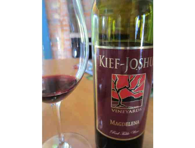 Kief-Joshua Vineyards Gift Certificate for Private Tastings for 8 People
