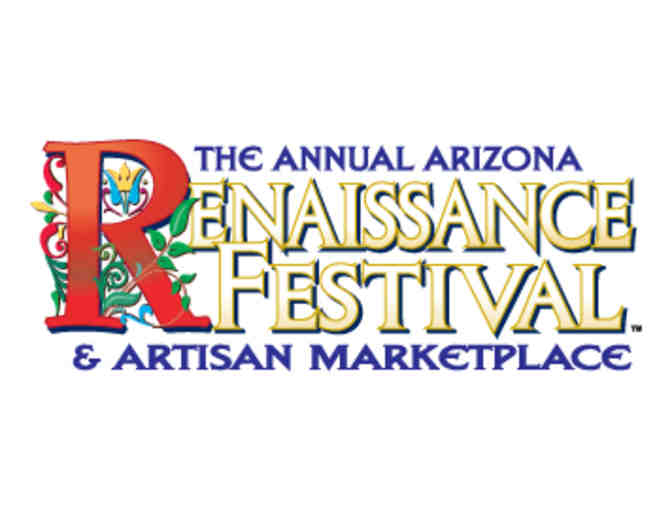 Arizona Renaissance Festival- 1 Adult + 1 Child  Admission Certificate