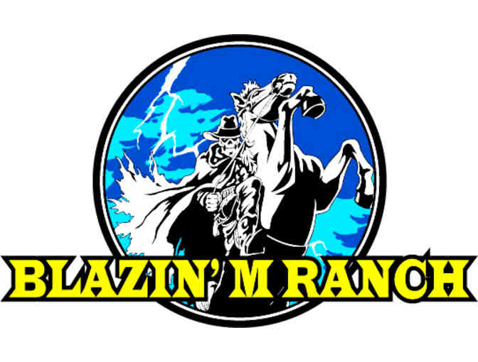 Blazin' M Ranch- Dinner and Show for Two