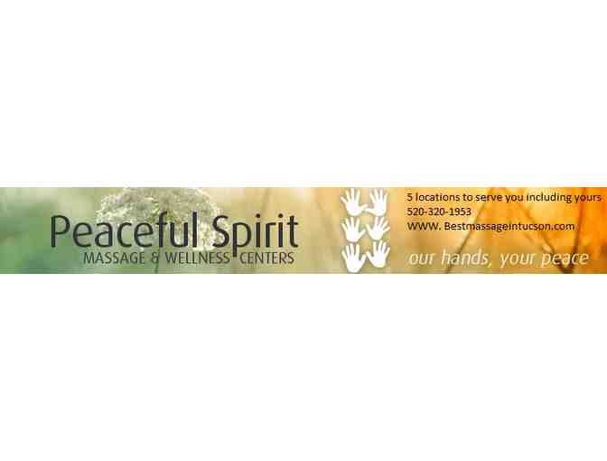 Wellness Package from Peaceful Spirit Massage and Wellness Centers