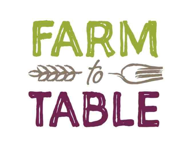 Community Food Bank Farm to Table Dinner - 2 Tickets