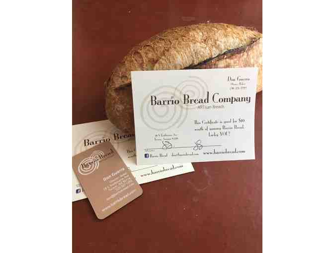 Barrio Bread - $10 Gift Card (#1)