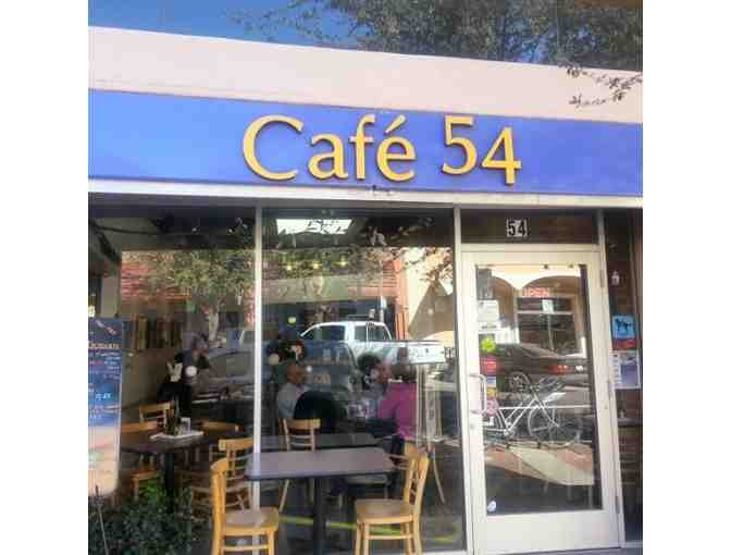 Cafe 54 - $25 Gift Certificate (#1)