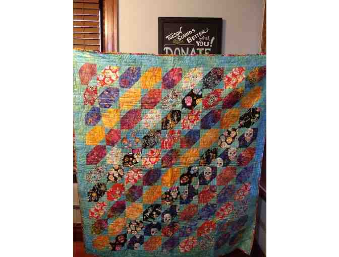 Quilt - 'Southwest Stretched Star' from Cactus Quilt Shop