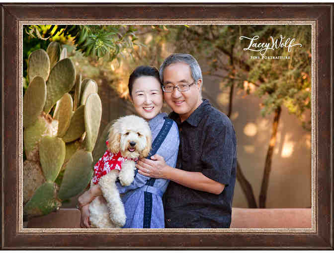 Designer Portraits by Photographic Portrait Artist Lacey Wolf  ($500 Certificate)