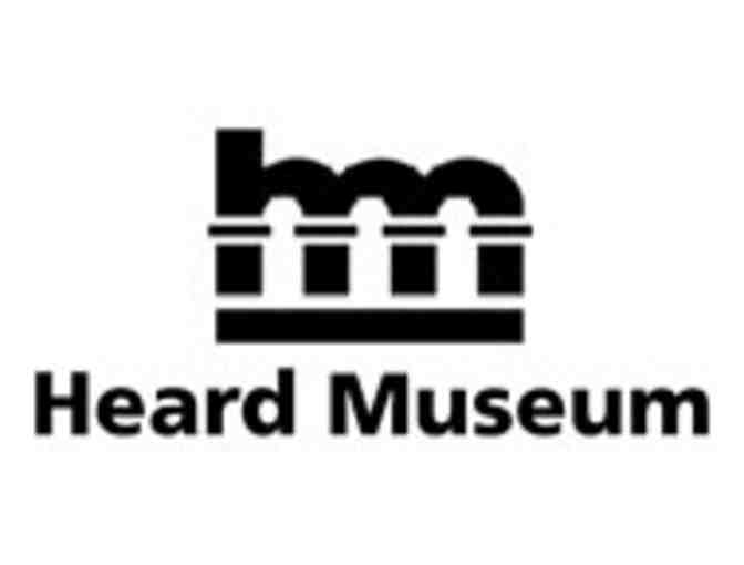 Heard Museum- 4 Guest Passes