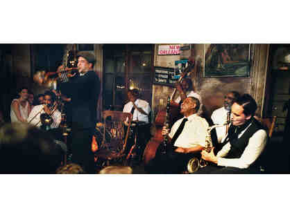 New Orleans Jazz & Dining Adventure for 2: Air. Hotel, Tickets & Dining
