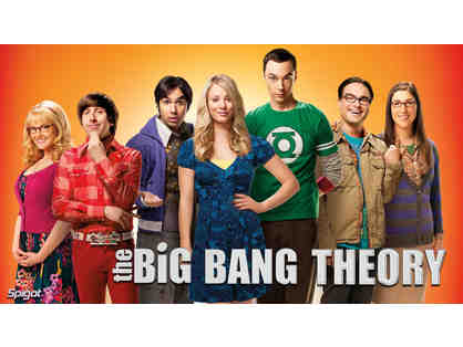 4 VIP Tickets to The Big Bang Theory Taping