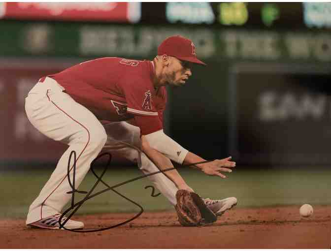 Andrelton Simmons Autographed Photo