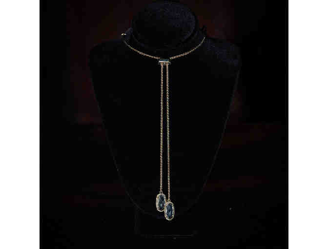 Angelucci Jewelry The Artemis 14K Yellow Gold Lariat Pendant - Photo 1