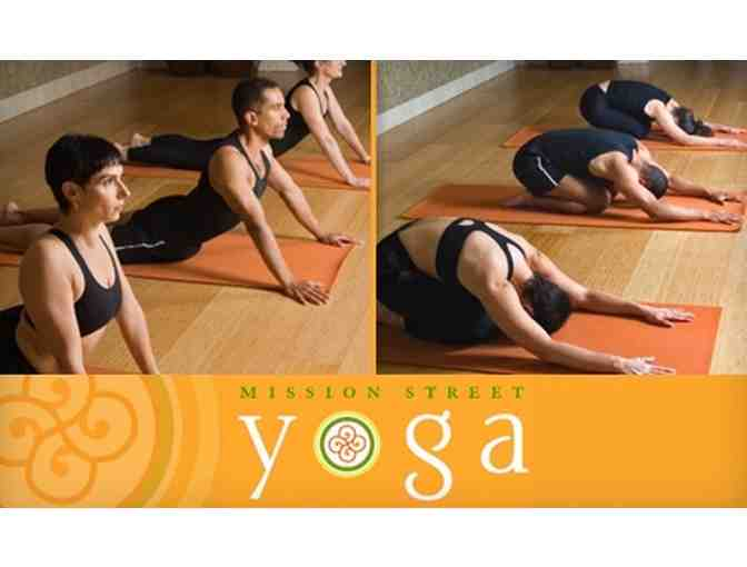 Mission Street Yoga & Pilates 12 Class Series Package