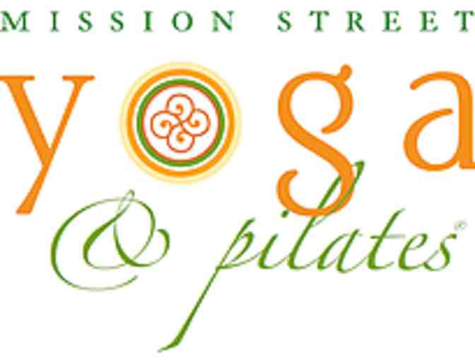Mission Street Yoga & Pilates 3 Month Unlimited Package
