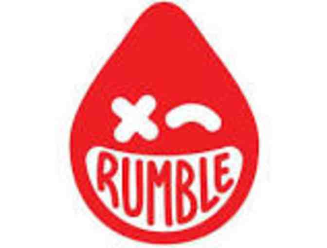 Rumble Boxing-5 Class Pack