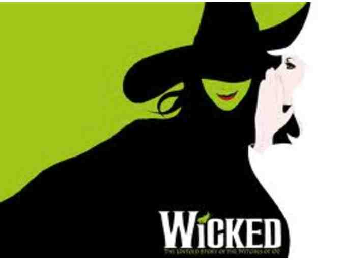 2 Tickets to WICKED & Backstage Tour!