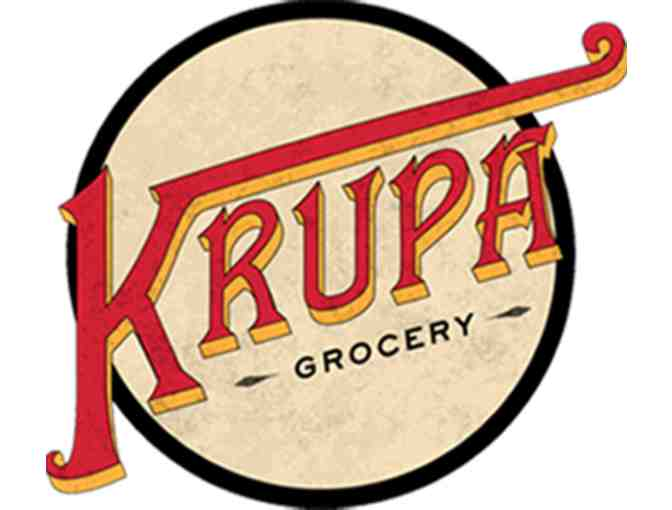 Krupa Grocery $50 gift card - Photo 1