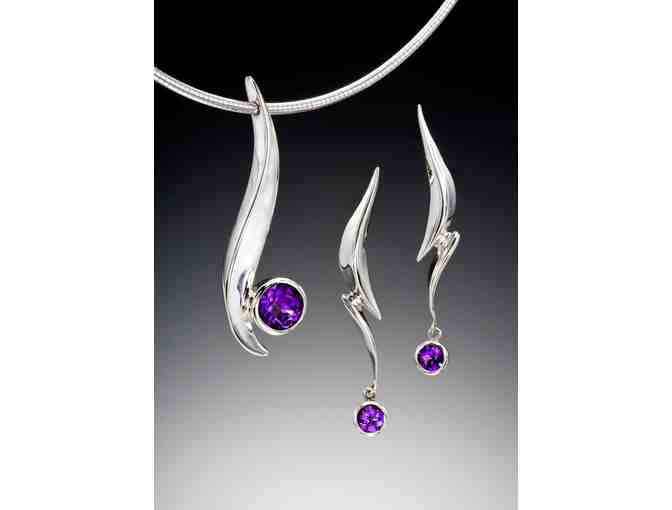 "Adam Neeley ""Dolce"" Pedant and Earring Set - Photo 1"