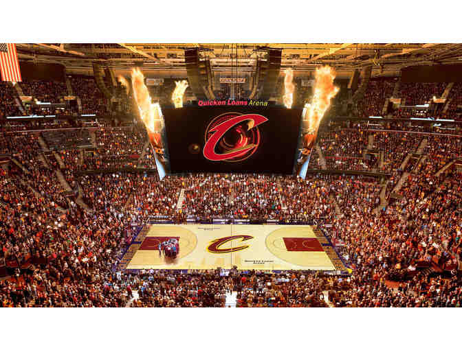 4 VIP Club tickets for Cavs versus Timberwolves, incudes parking! - Photo 1