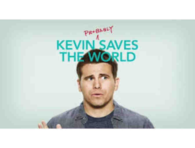 "Autographed poster from ABC's ""Kevin (Probably) Saves the World"" - Photo 1"