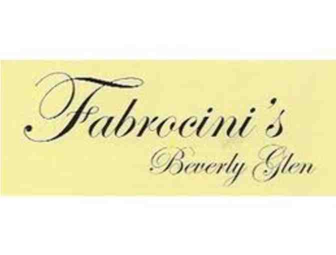 $50 at Fabrocini's Beverly Glen (C) - Photo 1
