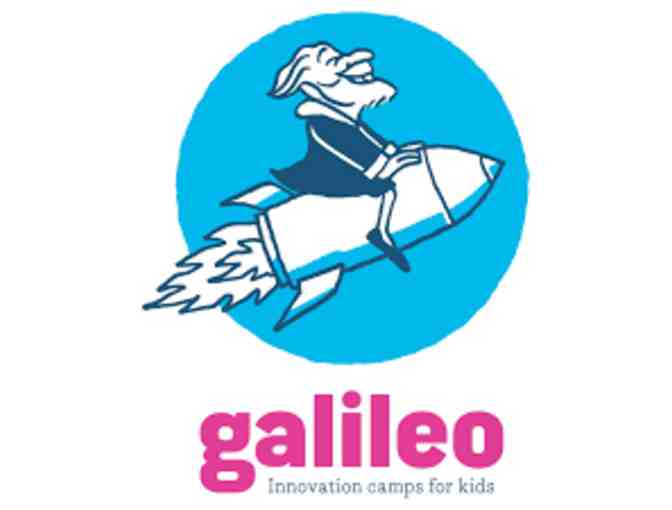 $200 toward a week of camp at Galileo Innovation Camps for Kids (C)
