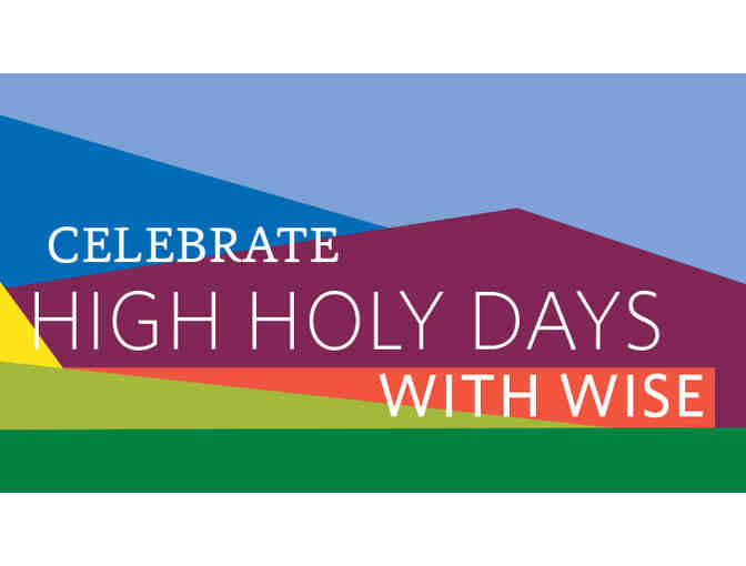 Family pass to Stephen Wise Temple High Holy Days Services 2018 (C)