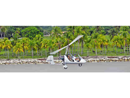 AutoGyro America-20 minute Ultralight Gyrocopter Tour along the Golden Coast of Costa Rica