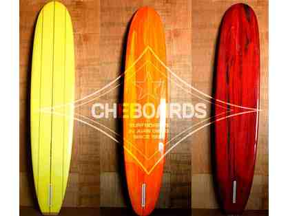 $100 Credit towards a 5-Point Red Star Surf Board and Logo T-Shirt by Cheboards