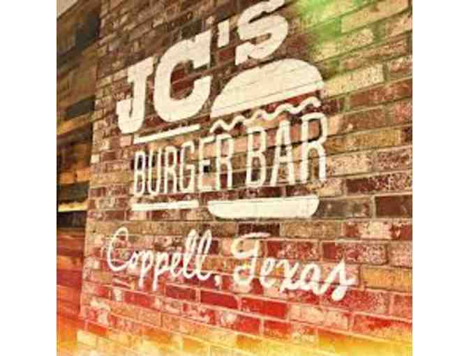 JC's Burger Bar - $150 Gift Certificate
