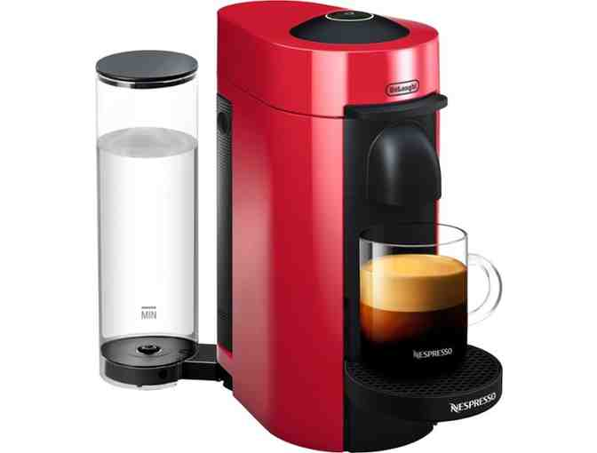 NEW! Ultimate Brewing Experience! Nespresso VertuoPlus  - Red