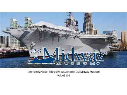 One Family Pack to U.S.S. MIdway Museum