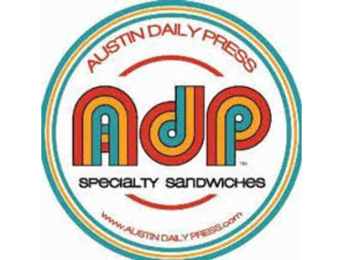 $10 Gift Certificate at Austin Daily Press - Photo 1