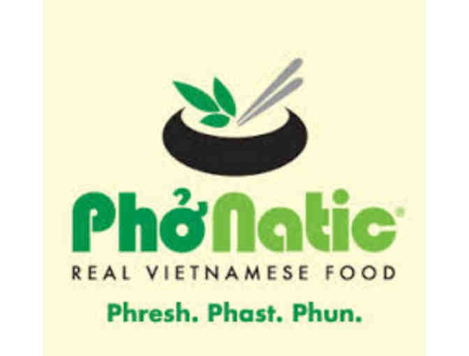 $10 Gift Card  Pho-Natic Vietnamese Restaurant - Photo 1