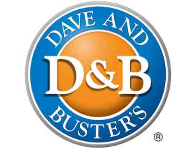 2 rechargeable 60 point Dave & Buster's power cards (worth $12/each) - Photo 1