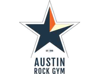Austin Rock Gym Gift Card - $50